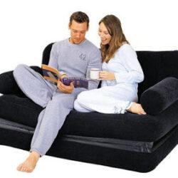 Oppustelig sofa