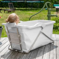 Oppustelig badekar & Alternativet: Sammenklappeligt badekar