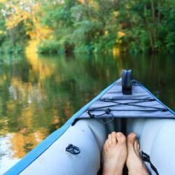 Oppustelig kano