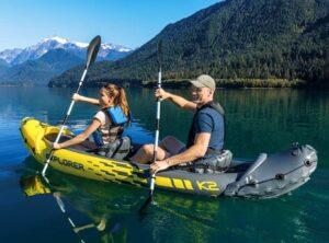 oppustelig kano - intex explorer