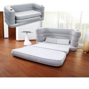 oppustelig seng - bestway multi max
