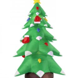 Oppusteligt juletræ